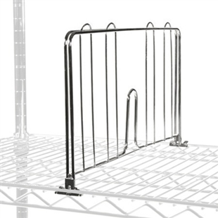 Divider for Wire Shelves