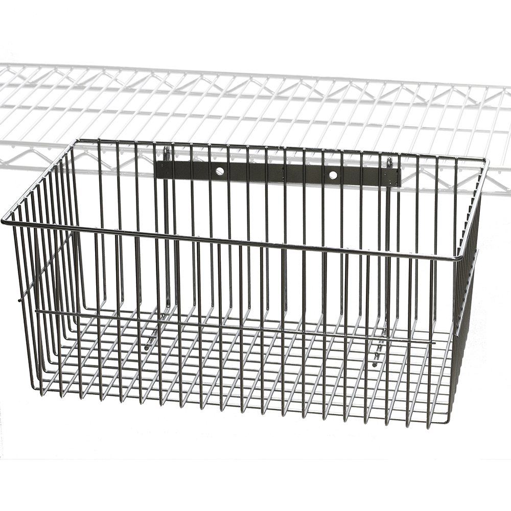 Wire Utility Shelving Basket | Shelving.com