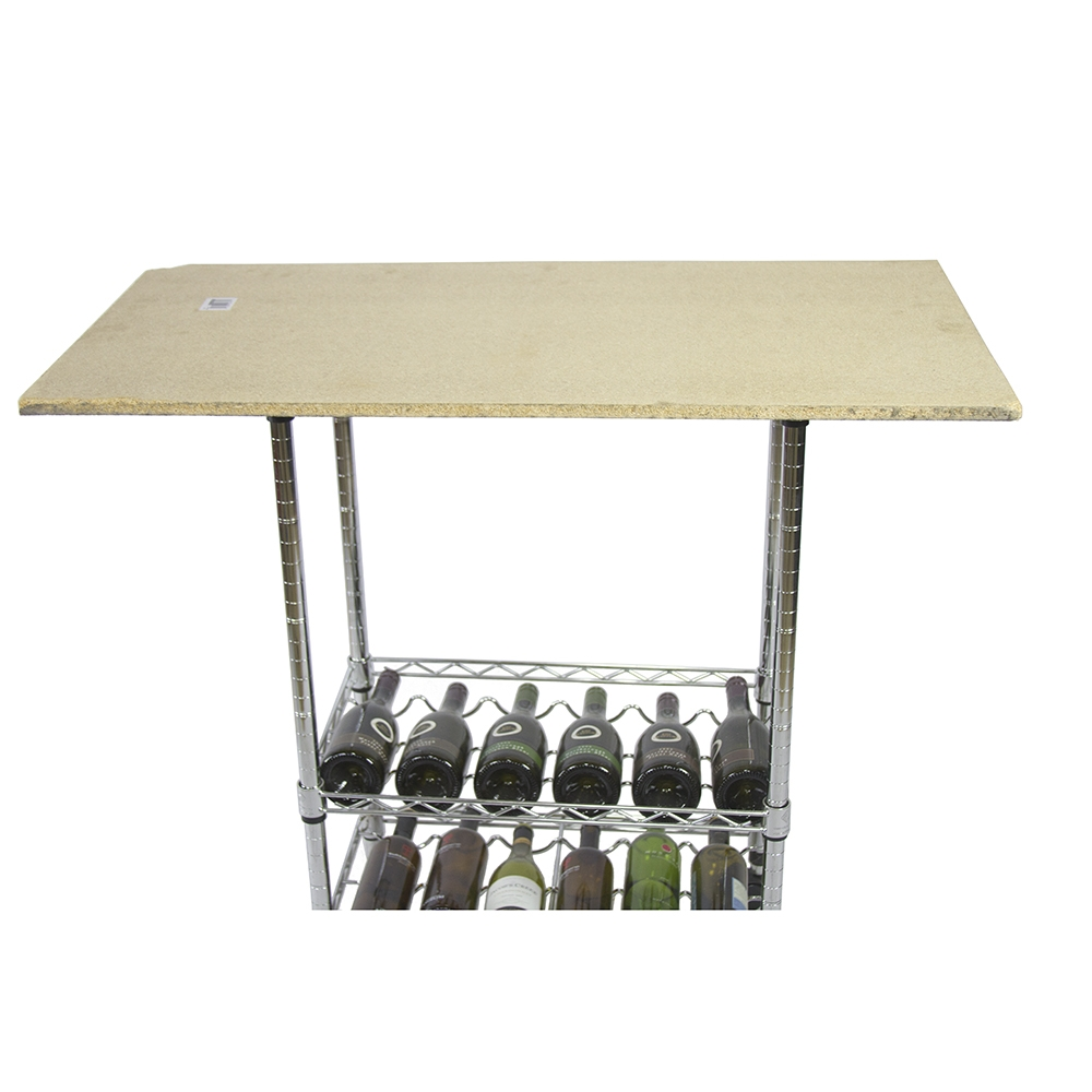 Counter Top Mounting Plates - Wire Shelving Accessory | Shelving, Inc.