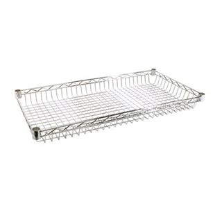 Chrome Basket Wire Shelves