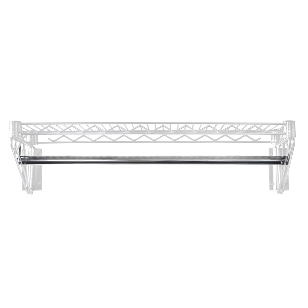 Wire Coat Hanger Rod | Shelving.com