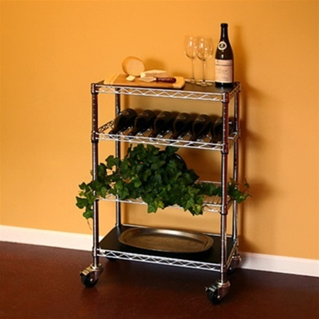 Wire Kitchen Cart 14d X 24w X 34h Shelving Inc