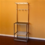 "Kitchen Shelving with Sliding Shelf - 18""d x 24""w x 72""h (SI-KK182472S)"