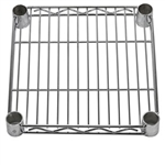 "12"" Deep Chrome Wire Shelves"