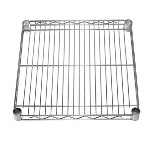 "18"" Deep Chrome Wire Shelves"