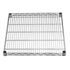 "24""d Chrome Wire Shelves"