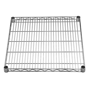"24"" deep Wire Shelves"