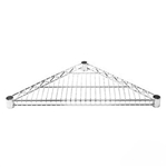 Wire Shelving Triangular Shelf