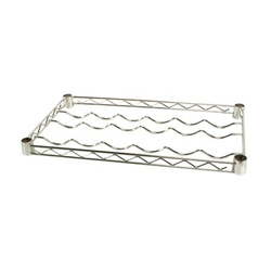 "14""d Chrome Wine Rack Wire Shelves"