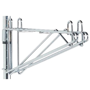 adjustable wall mount double shelf brackets rh shelving com