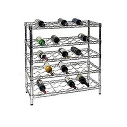 wire wine rack kits - Metal Wine Rack