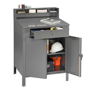 Closed-Style Foreman's Desk