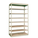 "24""d Rivetwell Single Rivet Shelving Units with 8 Levels"