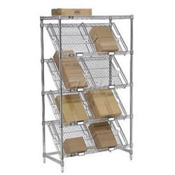 Wire Divider for Slant Shelves