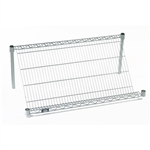 Slant Wire Shelves