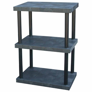 "DuraShelf Solid Top 36""w 3-Shelf System"