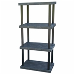 "DuraShelf Solid Top 36""w 4-Shelf System"