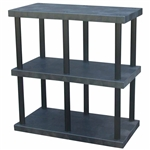 "DuraShelf Solid Top 48""w x 24""d x 51""h 3-Shelf System"