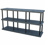 "DuraShelf Solid Top 96""w 3-Shelf System"
