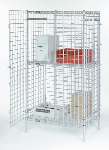 Nexel Security Shelving Unit