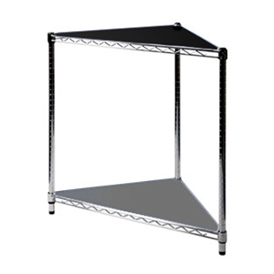 triangular liner for triangle wire shelving corner kits
