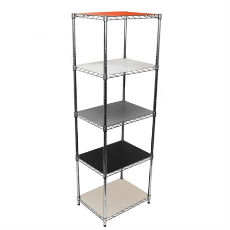 18 Plastic Liners For Wire Shelving