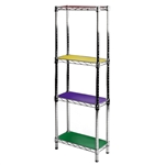 "8"" Colored Wire Shelf Liner - 2 Pack"