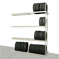 Rivetwell Single Row Tire Storage Add On Unit