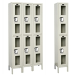 Safety-View Lockers - Double Tier