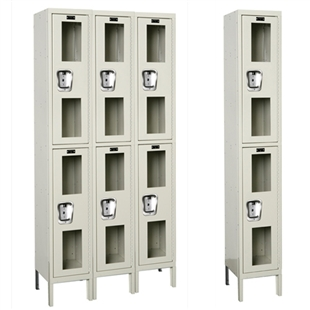 Safety View Locker - Double Tier