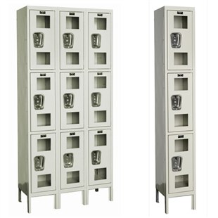 Safety-View Lockers - Triple Tier