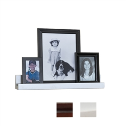 "24""w photo ledge wall accent"