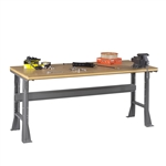 Workbench w/ Flared Legs & Compressed Wood Top
