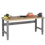 Workbench w/ Adjustable Legs & Compressed Wood Top