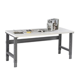 Workbench w/ Adjustable Legs & Plastic Laminate Top