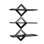 Diamonds 3-Level Wall Mount Shelving