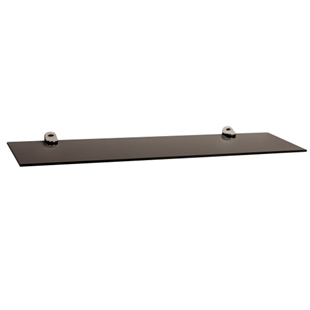 "2-Piece 24"" Glass Floating Shelves"