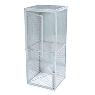 Wire Mesh Double Tier Locker