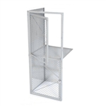Wire Mesh Double Tier Locker-Add-On