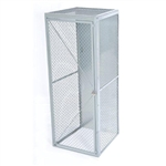 Wire Mesh Single Tier Locker-Starter