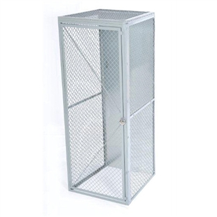 Wire Mesh Locker - Single Tier