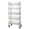 "24""d Wire Basket Carts"