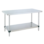 Stainless Steel Work Table w/ Bottom Shelf