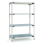 "18""d MetroMax i Antimicrobial 4-Shelf Units"