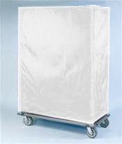 24 Quot White Wire Shelving Cart Covers Shelving Com