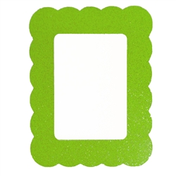Green magnetic dry erase board for decorating kids lockers