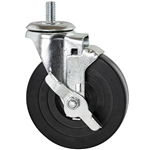 Rubber Threaded Casters