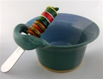 G-WIZ POTTERY- DIP BOWL