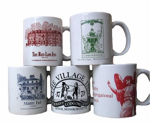72 Custom Logo Mugs