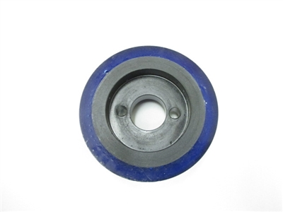 "Small Feeder Wheel 3"" DIA X 1"" WIDE - OM312 / 2032 Blue Urethane"